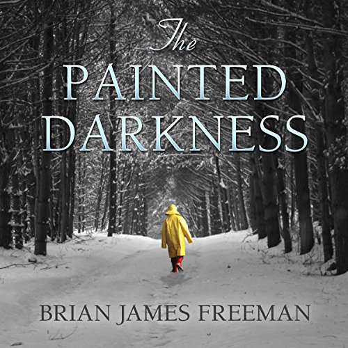 The Painted Darkness audiobook cover art