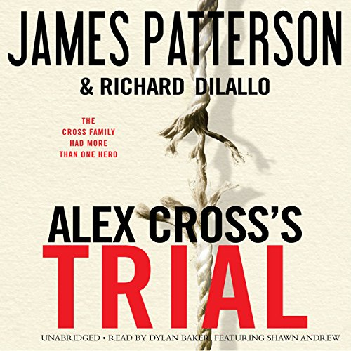 Alex Cross's TRIAL  audiobook cover art
