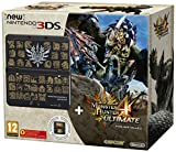 New Nintendo 3DS: Console, Nero + Monster Hunter 4 Ultimate Pack -...