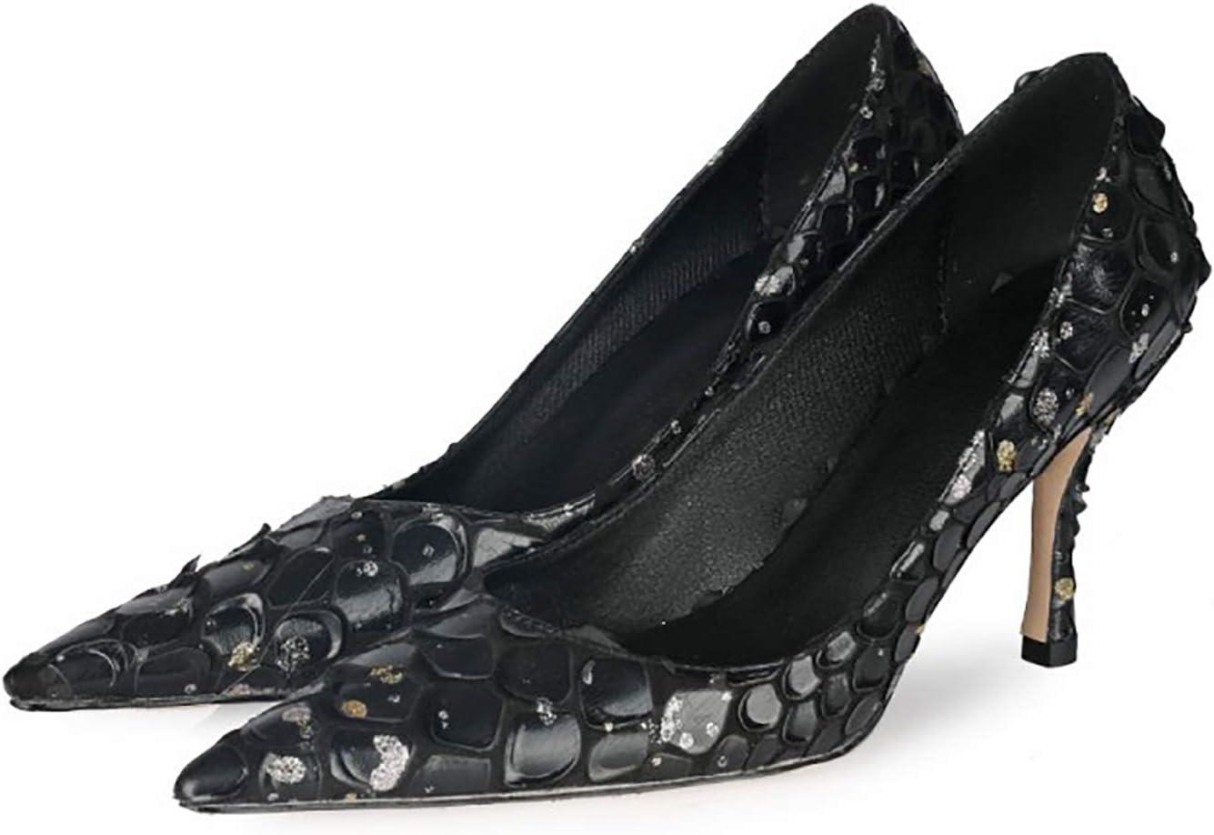 RHSMY Women's Bargain sale High Heels 8.5cm 3.34in Shoes Single Great interest Ladies Sexy F