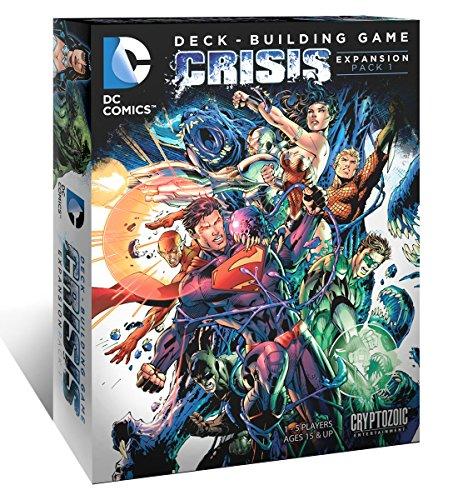 DC Comics–330357–Juego de Tarjetas–Deck Building–Crisis Expansion 1