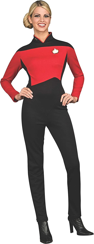 Cosplay Star Trek TNG Blue Jumpsuit Star Trek The Next Generation Uniform Pin
