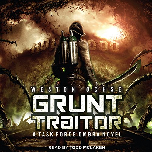 Grunt Traitor audiobook cover art