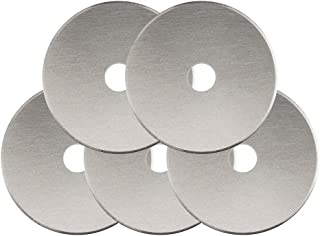 Fiskars 95287097J Rotary Cutter Replacement Blades, 45mm , 5 Pack