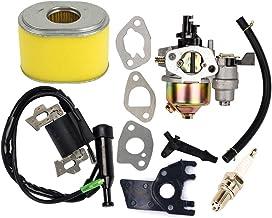 OuyFilters Vervangende carburateur met ontstekingsspoel en luchtfilter voor Honda Gx160, Gx200, 5,5 pk en 6 pk, motorgener...