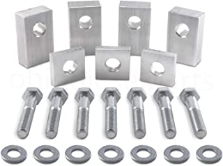 Jeep Wrangler JKU/JLU Solid Billet Aluminum Rear Seat Recline Kit with Bolts and Washers