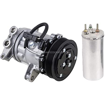 BuyAutoParts 60-86395R2 NEW For Dodge Dakota 4.7L 2000 2001 2002 2003 AC Compressor w//A//C Drier