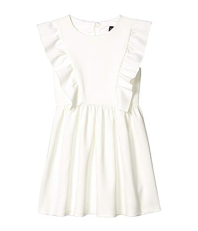 Bardot Junior Mavis Ponte Dress (Big Kids) (Ivory) Girl