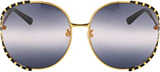 Luxury Fashion | Gucci Womens GG0595S005 Gold Sunglasses | Fall Winter 19