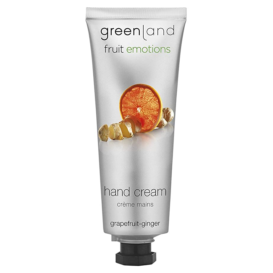 ニュージーランドラウズ弱めるgreenland [FruitEmotions] ハンドクリーム 75ml グレープフルーツ&ジンジャー FE0535