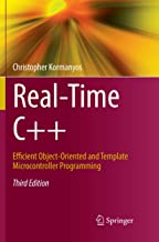 Livres Real-Time C++: Efficient Object-Oriented and Template Microcontroller Programming PDF