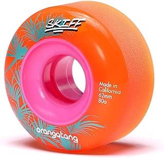Orangatang Skiff 62 mm All-Terrain Skateboard Wheels (Set of 4)