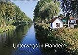 Unterwegs in Flandern (Wandkalender 2019 DIN A2 quer): Facetten einer belgischen Region (Monatskalender, 14 Seiten ) (CALVENDO Orte) - Gudrun Nitzold-Briele