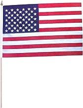 Rhode Island Novelty Set of 12 1' x 1.5' US USA American Desk Flag On Wooden Dowel Decoration