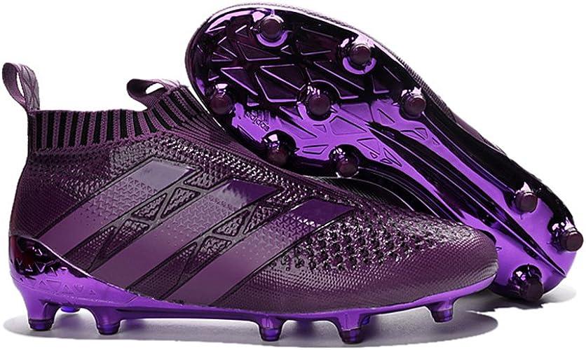 Yurmery Chaussures pour Homme Ace 16Purecontrol Violet Bottes de Football