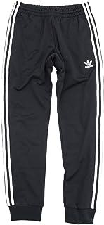 (アディダス) adidas ジャージー パンツ メンズ スーパースター トラック ジャージパンツ オリジナルス ブラック/ホワイト