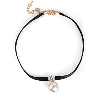 Silver Shoppee Chain for Women (Black) (Ssnk1026)
