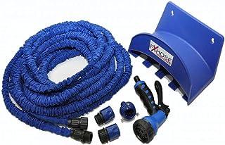 طقم لي الماء المرن 10 متر يتمدد حتى 30 متر لون ازرق