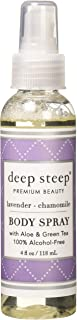 Deep Steep Body Mist, Lavender Chamomile, 4 Fluid Ounce