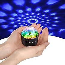 Mini Discokugel Licht,YIKANWEN Stimme Steuerung Disco Party