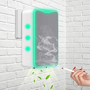 Wall Plug in Rechargable Air Purifier