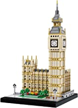 dOvOb Real Big Ben Nano Blocks Building Set (3600PCS) - World Famous Architectural Model Toys Gifts for Kid and Adult