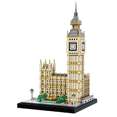 dOvOb Real Big Ben Nano Blocks Building Set (36...