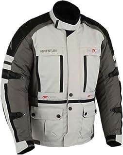 Motorradjacke Textil Wasserdicht Winddicht Mit Protektoren Herren Biker (XXXXXL)