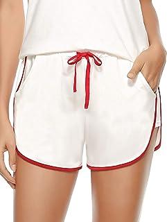 Amazon Es Blanco Pantalones Cortos Deportivos Ropa Deportiva Ropa