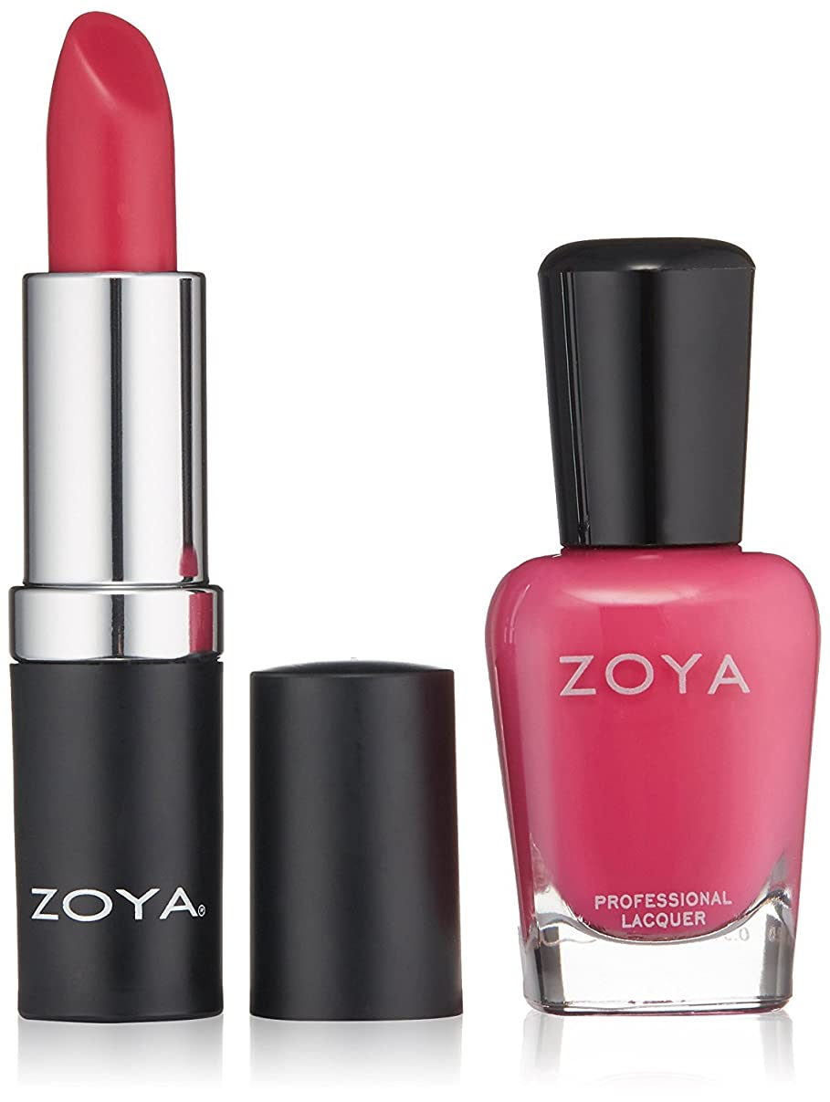 動脈早く混合したZOYA Nail Polish Xo Lips & Tips Duo 1 fl. oz. [並行輸入品]