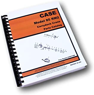Case Drott 85Rm2 Carrydeck Crane Parts Manual Catalog Assembly Exploded View