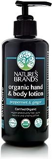 Herbal Choice Mari Organic Hand & Body Lotion, Peppermint & Ginger; 6.8floz