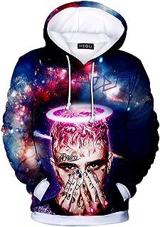 Unisex 3D Rapper Lil Peep Crybaby Hoodie Sport Sweatshirt Hip Hop Fans Costume