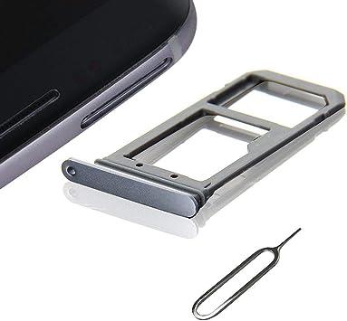 Cemobile - Soporte de ranura para tarjeta SIM para Samsung Galaxy S7 Edge G935 + bandeja para tarjeta SIM abierta (sólo modelos SIM) (dorado): Amazon.es: Electrónica