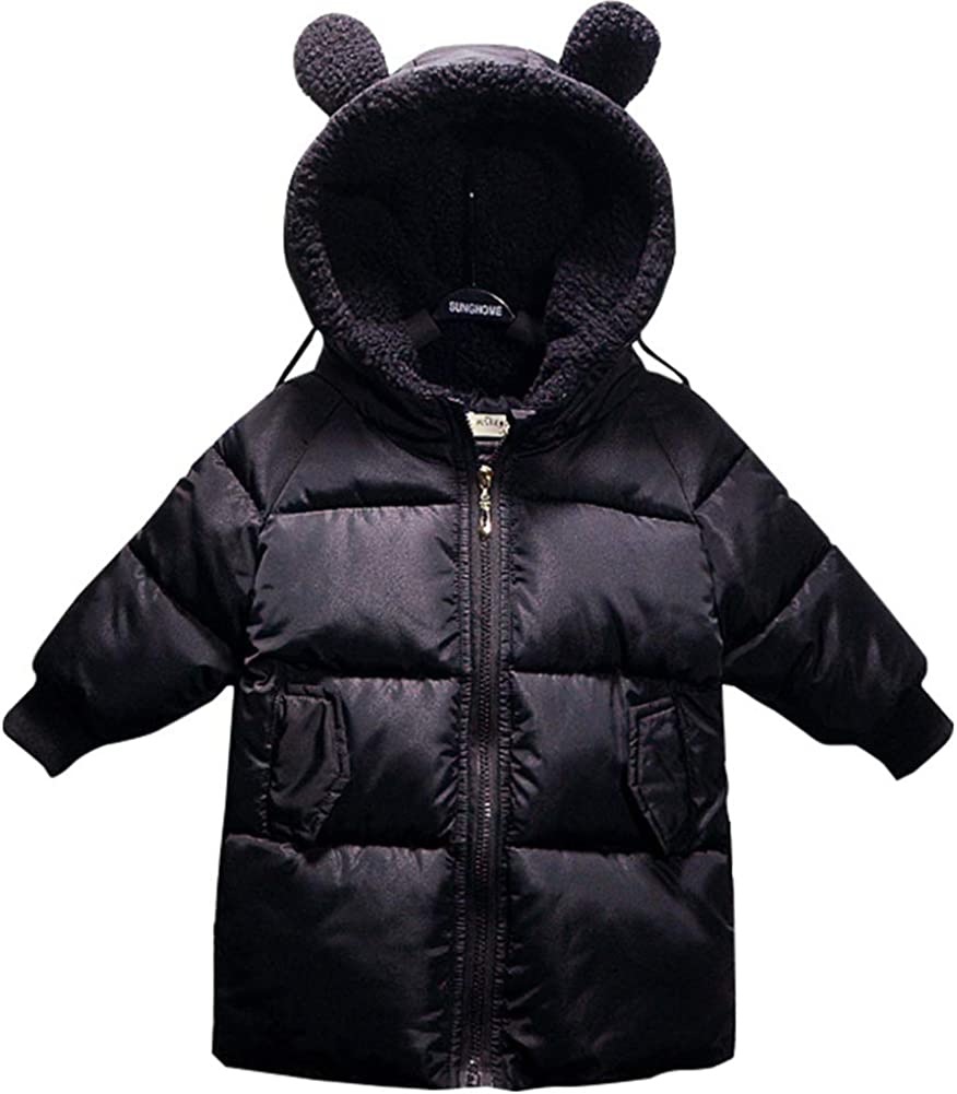 taitaibaby Baby Toddler Boys Girls Kids Ho Adorable San Diego Mall Max 42% OFF Coats Winter