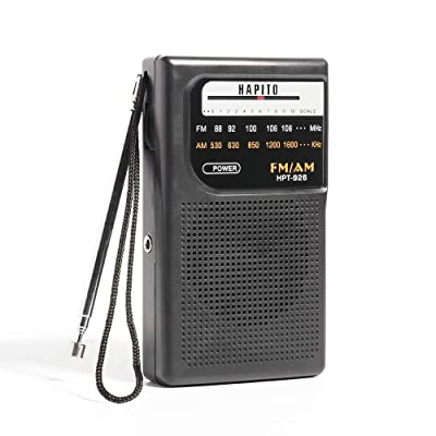 Portable Pocket Transistor Radio Battery Operat...