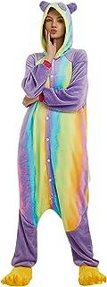 Cuteelf Disfraz Onesies Adulto Pijamas Ropa de Hogar Cosplay Disfraz Animal Ropa de Dormir Mujeres De Dibujos Animados Mono De Una Pieza Pijamas Encantador Caliente Pijamas