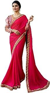 Delisa Fashion Indian Ethnic Bollywood Saree .Party Wear Saree,Pakistani Designer Sari Wedding, Saree for Womens