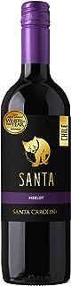 【チリの名門ワイナリーが作る、リッチな味わいのテーブルワイン】サンタ バイ サンタ カロリーナ メルロ [ 赤ワイン ミディアムボディ チリ 750ml ]