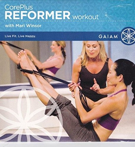 Gaiam Core Plus Reformer Workout with Mari Winsor