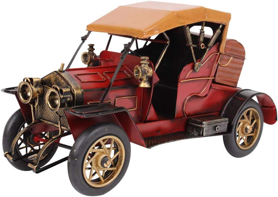 SDBRKYH Classic OFFicial mail order Car Model Hand Retro specialty shop Decoration Metal