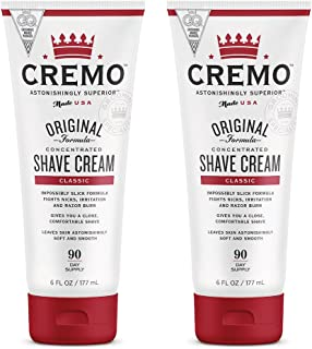 Cremo Original Shave Cream, Astonishingly Superior Smooth Shaving Cream Fights Nicks,..