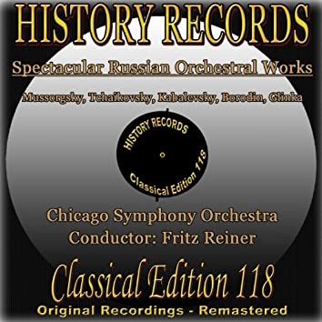 History Records: Spectacular Russian Orchestral Works (Original Recordings - Remastered)