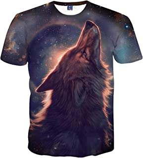 Unisex 3D Novelty Tshirts Men Graphic Funny Tees Printed Crewneck Short Sleeve Summer Top T-Shirts