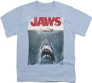 Title - Short Sleeve Youth T-Shirt - Light Blue