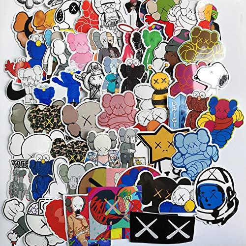 JZLMF Street Graffiti Immagine Adesivi Carrozzeria Bagaglio Computer e Altri Adesivi Decorativi Ovunque 65 Adesivi Medi per Ragazzi e Ragazze