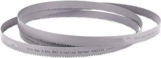 Wnuanjun 1 st Bi-metall metallskärband sågblad mini bandsåg M42 HSS karbidspets band sågblad (storlek: 27 x 3350 x 0,66)