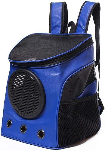 minorista de fitness COOINS-CBXL Bolsa de de de Viaje Bolsa Transpirable de Malla Transpirable Bolsa de Viaje para Mascotas, 32 × 27 × 36 cm, azul  liquidación hasta el 70%