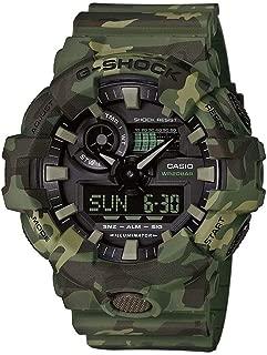 Casio Mens Quartz Watch, Analog-Digital Display and Resin Strap GA-700CM-3AER