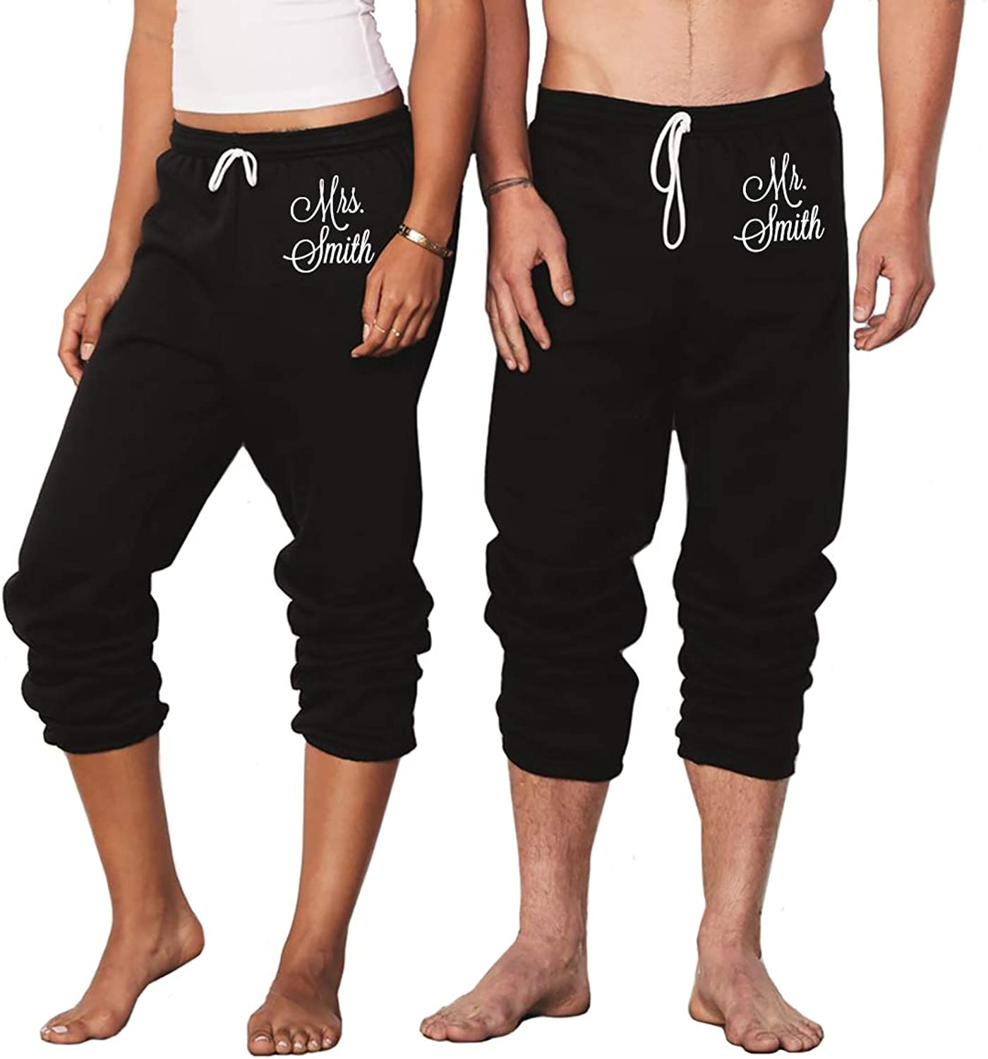 Classy Bride Personalized Mr. and Mrs. Sweatpants
